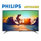 Philips飛利浦 65吋 4k聯網LED液晶顯示器+視訊盒 (65PUH6082)