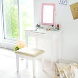Peachy life 愛麗絲化妝桌椅/梳妝台/化妝台/化妝桌/化妝品收納