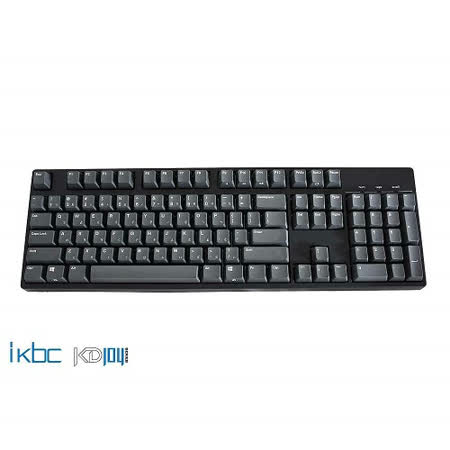 ikbc KD104 黑軸 cherry 電競機械鍵盤 -friDay購物 x GoHappy