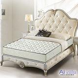 【Ai-villa】立體加厚緹花護背式床墊5X6.2尺(雙人)