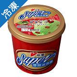 小美SUPER優質冰淇淋抹茶紅豆650