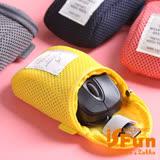 【iSFun】3C收納*鋪棉防撞滑鼠收納包/黃