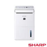 【夏普SHARP】 8L衣物乾燥清淨除濕機 DW-D8HT-W