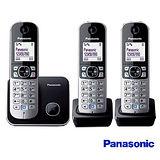 《贈馬克杯》【國際牌Panasonic】DECT數位無線電話 KX-TG6813TW 公司貨