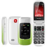 MOBIA M700 摩比亞 3G 2.4吋摺疊式掀蓋式手機/無相機軍人機/老人機/孝親機/白綠