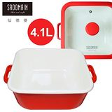 SADOMAIN 仙德曼 琺瑯方鍋(深) 4.1L