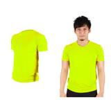 (男女) HODARLA FLARE 100 吸濕排汗衫-短袖T恤 透氣 多色 台灣製 螢光黃