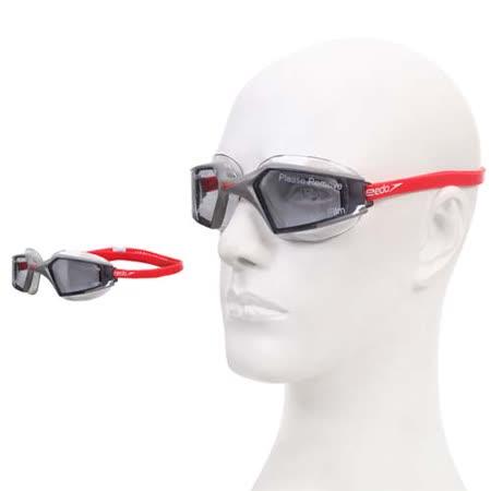 SPEEDO AQUAPULSE MAX 2成人進階型泳鏡-游泳蛙鏡防霧抗UV 灰銀 F -friDay購物 x GoHappy