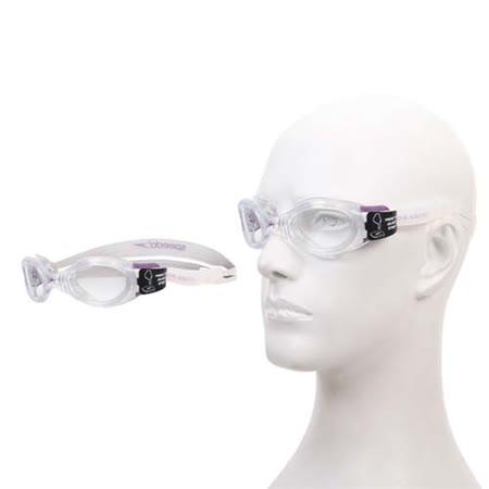 (女) SPEEDO BIOFUSE 成人用進階型泳鏡-游泳 蛙鏡 防霧 抗UV 透明紫 F -friDay購物 x GoHappy