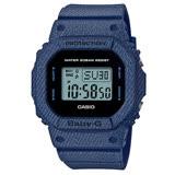 CASIO BABY-G 熱銷款丹寧元素設計休閒錶-BGD-560DE-2