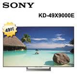 SONY 49吋4K高畫質Android液晶電視 KD-49X9000E 8/13前買就送防水托特包