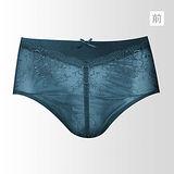 【黛安芬】逆齡Bra M-EL高腰內褲(孔雀藍)