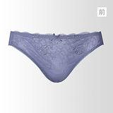 【黛安芬】逆齡Bra M-EL低腰內褲(銀灰藍)