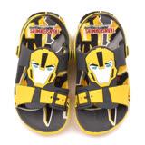童鞋城堡-變形金剛 中童 大黃蜂超輕量造型涼鞋TF10015-黃