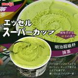 【台北濱江】明治超級杯冰淇淋-抹茶口味1箱(24杯 200ml杯)