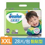 【噓噓樂】輕柔乾爽紙尿褲-XXL (28片x4包)