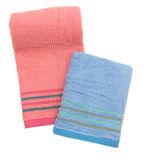 TELITA 紗布緞條毛巾-2入組
