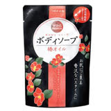 日本Tsubaki椿花油沐浴精補充包400ml