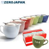 【ZERO JAPAN】限量Tea英文馬克杯+典藏陶瓷壺超值禮盒組(多色任選)