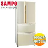 SAMPO 聲寶560L變頻觸控四門冰箱 SR-LW56DD(Y1)