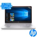 HP Pavilion 15-cc036TX 15.6吋FHD/i5-7200U/940MX-2GB/4G/1TB/W10 筆電(英倫紅)