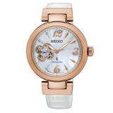 SEIKO 精工 LUKIA 機械五週年限定機械腕錶/34mm/4R38-01M0W(SSA812J1)