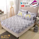 【Betrise流年熠彩】單人-台灣製造-3M專利天絲吸濕排汗二件式床包組