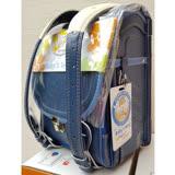 【VISO】寶貝之翼 Q 系列- 半蓋型 手工護脊書包(軍艦藍)/深藍 (3年保固)
