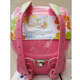 【VISO】寶貝之翼 Q 系列- 半蓋型 手工護脊書包 (甜心桃) (3年保固)