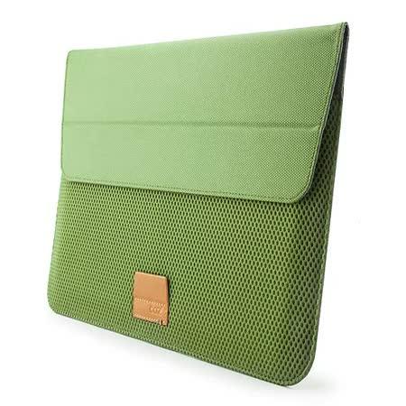 Cozistyle ARIA Stand Sleeve 13吋 Macbook Air/Pro(Retina) 防潑水可當立架 磁扣信封式筆電保護套 - 蕨綠 -friDay購物 x GoHappy