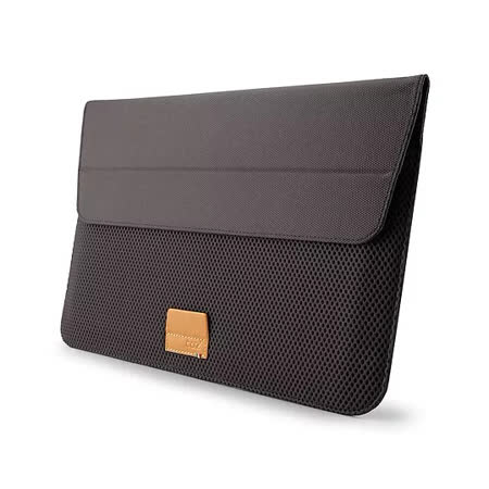 Cozistyle ARIA Stand Sleeve 13吋 Macbook Air/Pro(Retina) 防潑水可當立架 磁扣信封式筆電保護套 - 岩石灰 -friDay購物 x GoHappy