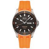 MIDO美度 OCEAN STAR海洋之星80動力鈦潛水機械錶-灰x橘/42mm M0264304706100