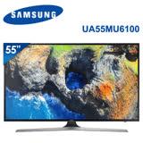 SAMSUNG三星 55吋 4K UHD連網液晶電視(UA55MU6100WXZW)*送基本安裝+國際14吋微電腦立扇+佳美能行動電源
