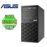 ASUS 華碩 H110 商用電腦 (Intel Core i3-6100 8G 1TB DVD-RW DOS 四年保固)