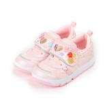 (中小童) MOONSTAR CARROT 甜點屋運動鞋 粉 童鞋 鞋全家福