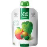【 Love Child 加拿大寶貝泥 】有機鮮萃生機蔬果泥 均衡寶系列-菠菜、綠花椰菜、奇異果、蘋果