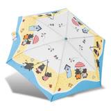 【RAINSTORY】河馬沙灘抗UV輕細口紅傘(藍)