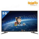 【禾聯HERAN】50吋 4K 聯網 LED液晶顯示器/電視+視訊盒(HD-504KC1+MI5-C01)