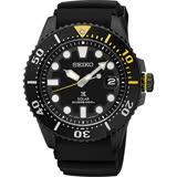 SEIKO精工 PROSPEX SCUBA 太陽能腕錶-黑水鬼 V157-0BT0SD(SNE441J1)