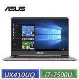 ASUS UX410UQ-0091A7500U 14吋FHD i7-7500U/8G/1TB+128G SSD/940MX獨顯2G/輕薄效能筆電 WIN10