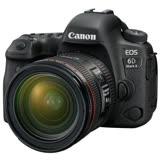 Canon EOS 6D Mark II+24-70mm f4L 變焦鏡組 (公司貨).-SD 64G記憶卡+吹球拭筆組+保護貼+保護鏡77mm+濾鏡袋