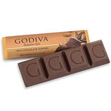【GODIVA】頂級巧克力條-杏仁牛奶巧克力 43g