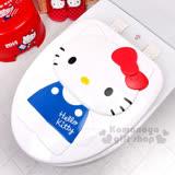 〔小禮堂韓國館〕Hello Kitty 硬式裝飾馬桶蓋《白.站姿》輕鬆美化浴室