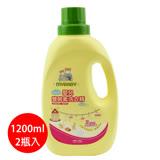 【愛的世界】MYBABY 嬰兒雙酵素洗衣精(1200ml*2瓶入)-台灣製-