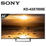 【SONY】43吋 4K智慧連網電視 (KD-43X7000E)
