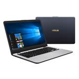 【ASUS華碩】X405UQ-0113B7200U 14吋FHD i5-7200U 8G記憶體 1TB+128GSSD NV940MX 2G獨顯 雙碟輕型筆電(冰河灰)