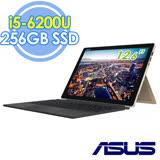ASUS T303UA-0043G6200U 12.6吋WQHD/i5-6200U/Win10 冰柱金平板筆電-加碼送Office 365個人一年版+USB復古鐵製小桌扇