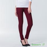 bossini女裝-超彈窄管褲01酒紅