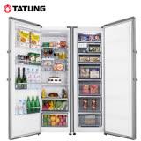 TATUNG大同 自由配對開冰箱 TR-380HRL-SS +TR-270HFR-SS 送安裝