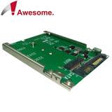 Awesome M.2 SSD轉SATA 2.5吋7mm轉接盒-AWD-DT-119